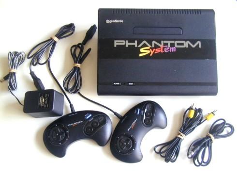 Assim era o meu Nintendo, o Phantom System.