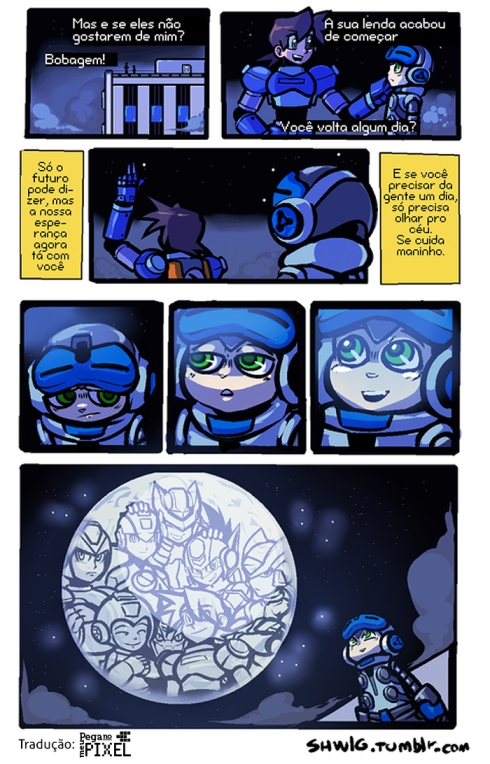 Mighty No. 9 tirinha