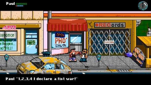 A paleta de cores é a do NES, mas sem as limitações de quantas cores possíveis na tela, então pense em um NES 2.0, ou Super NES sem ser o SNES que já conhecemos