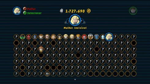 Sério, olha a baralhada de personagens possíveis, e repare que na foto em destaque no topo, ficam ainda as caixas de uniformes diferentes a liberar no jogo