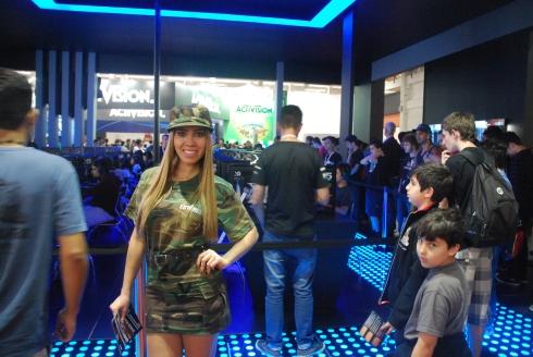 Battlefield 4 também estava muito bem representado na feira!