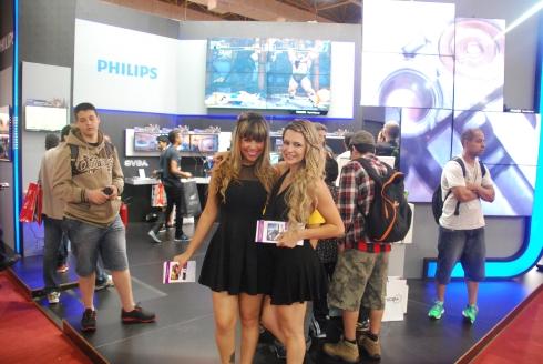 Philips tinha as saias mais curtas da BGS!