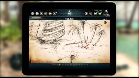 Funções em pausa como verificar mapas do tesouro, marcar um ponto no mapa ou comandar suas frotas ficaram mais práticas com o Companion App