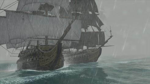 Apresentadas em AC III, as batalhas marítimas foram melhor desenvolvidas.