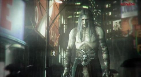 Drácula recém acordado dando um rolé por Castlevania City, faltou estranhar a tecnologia e as pessoas