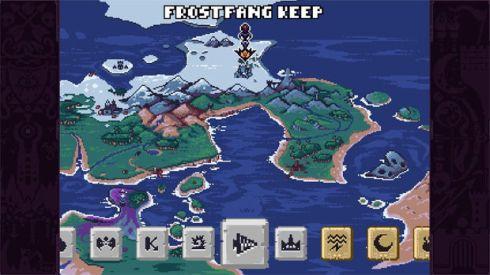 No modo Quest, você vai avançando para novas dungeons ao redor do mapa do jogo